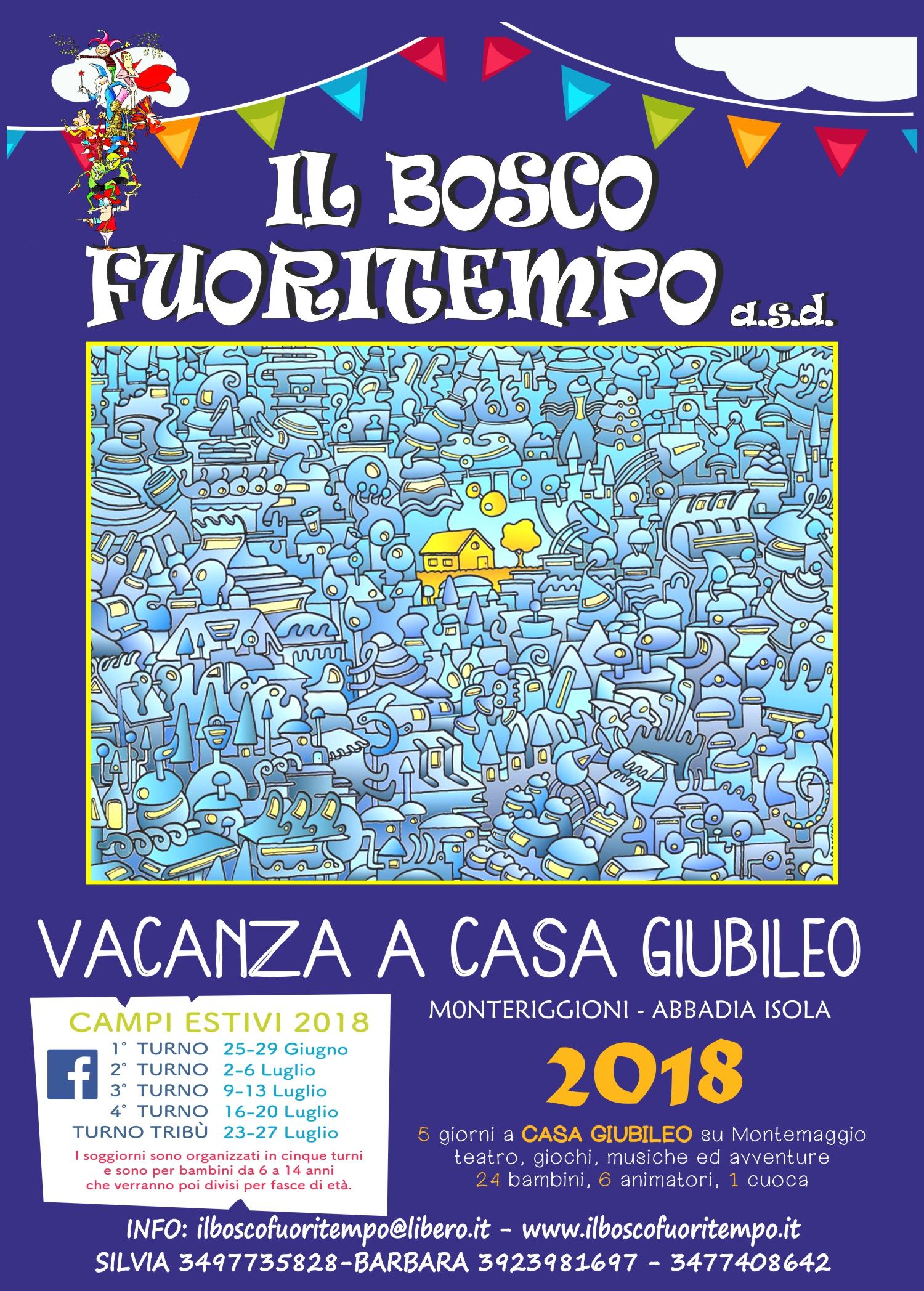 Volantino estate 2018 - Il Bosco Fuoritempo